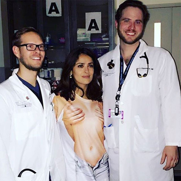 Salma Hayek, Doctors, ER