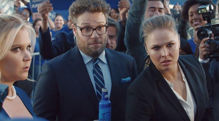 Ronda Rousey, Amy Schumer, Seth Rogen, Bud Light Ad