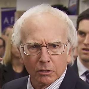 Larry David, as Bernie Sanders, SNL