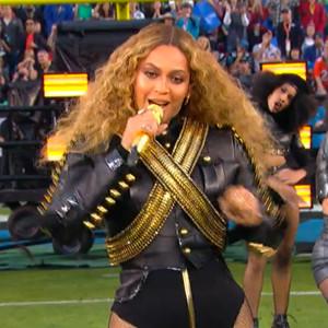Beyonce, 2016 Super Bowl halftime show