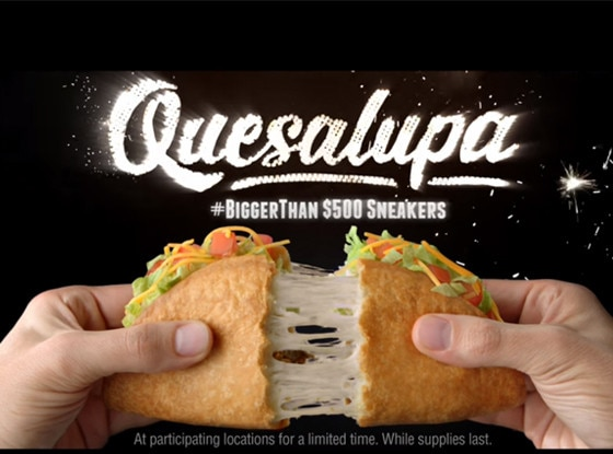 Taco Bell, Quesalupa, Super Bowl 50