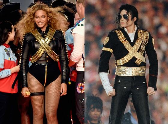 Beyonce, Michael Jackson