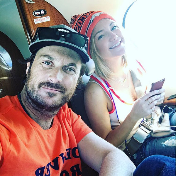 Oliver Hudson, Kate Hudson, Super Bowl 50