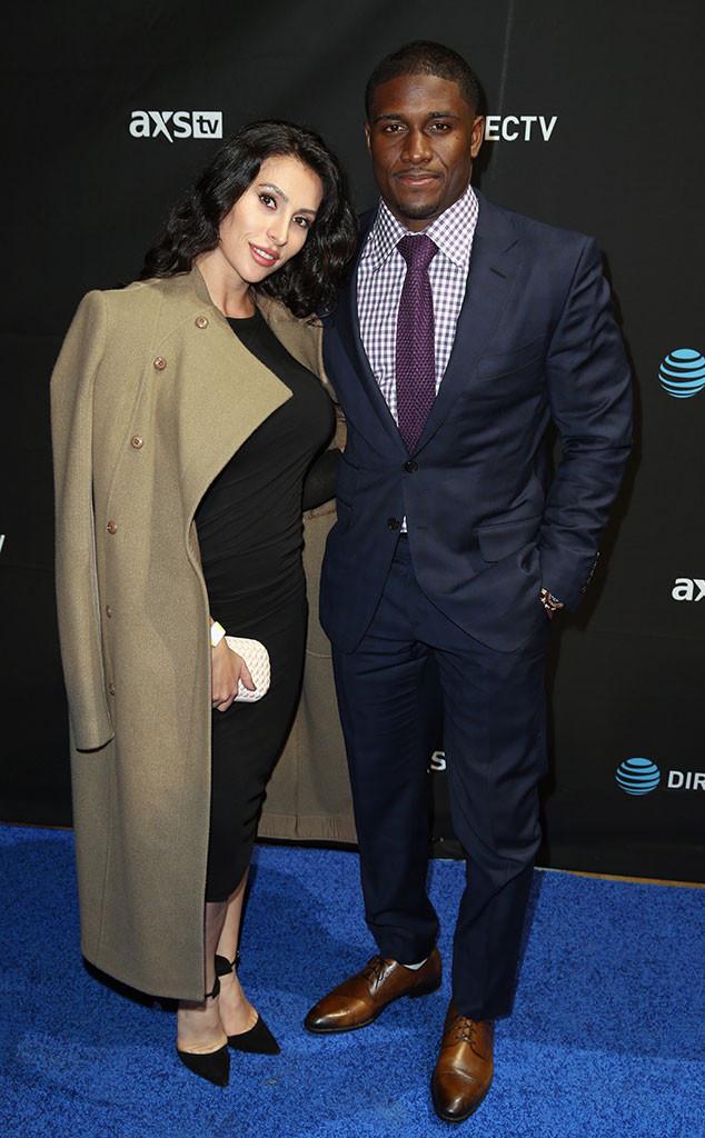 Lilit Avagyan, Reggie Bush, Pre-Super Bowl 50 Party
