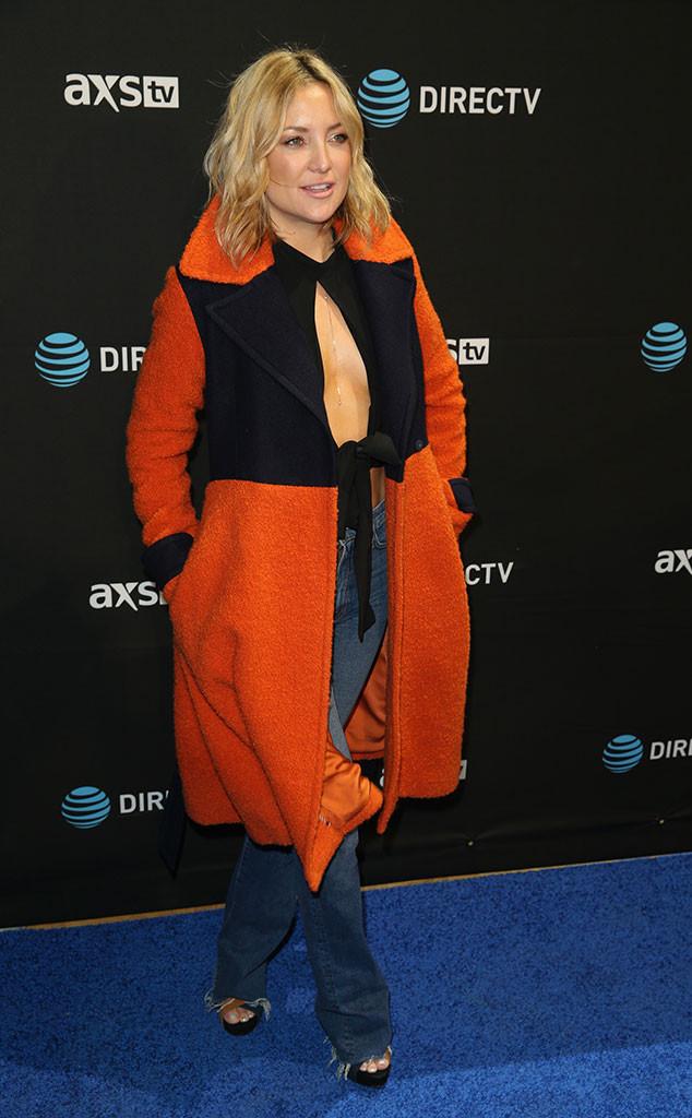 Kate Hudson, Pre-Super Bowl 50 Party