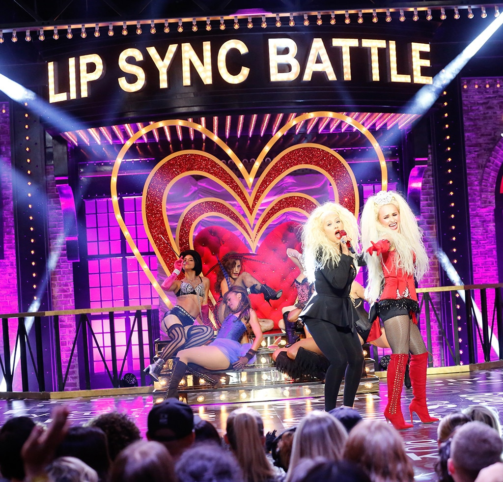 Lip Sync Battle, Hayden Panettiere, Christina Aguilera