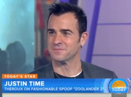 Justin Theroux, Today Show