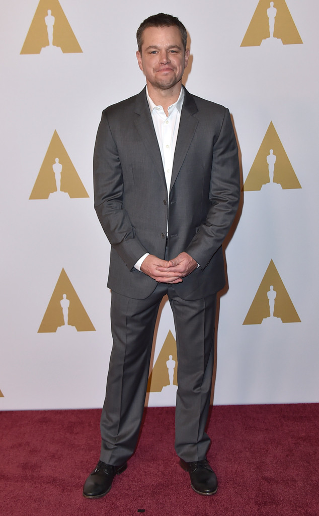 Matt Damon, Academy Awards Nominee Luncheon