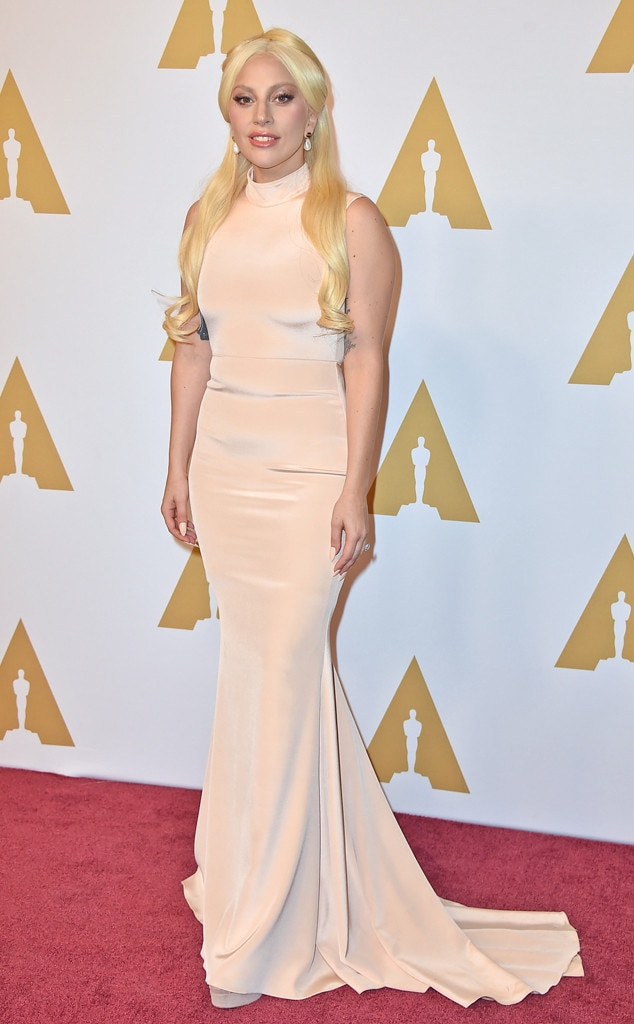 Lady Gaga, Academy Awards Nominee Luncheon, Christian Siriano