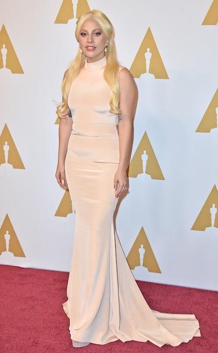 Lady Gaga, Academy Awards Nominee Luncheon, Christian Siriano