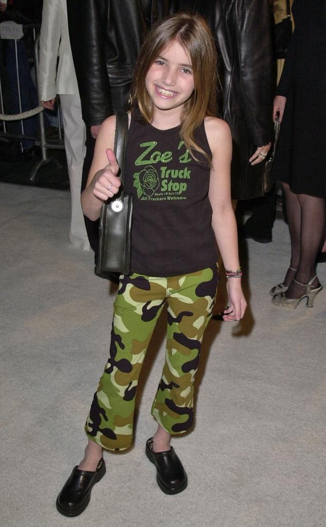 Emma Roberts, 2001