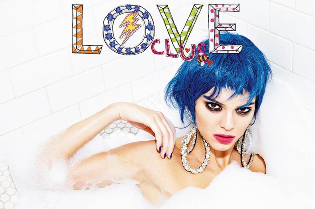 Kendall Jenner, Love Magazine, Bubble Bath