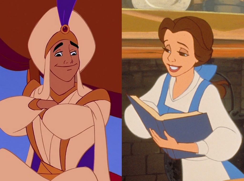 Aladdin, Beauty and the Beast