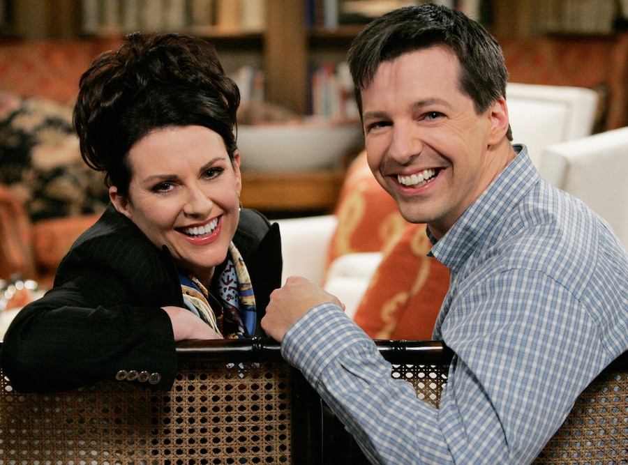 Megan Mullally, Sean Hayes, Will & Grace
