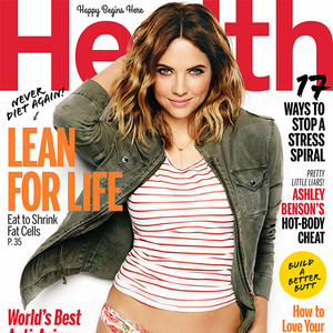 Ashley Benson, Health Magazine