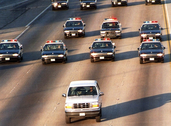O.J. Simpson, White Bronco