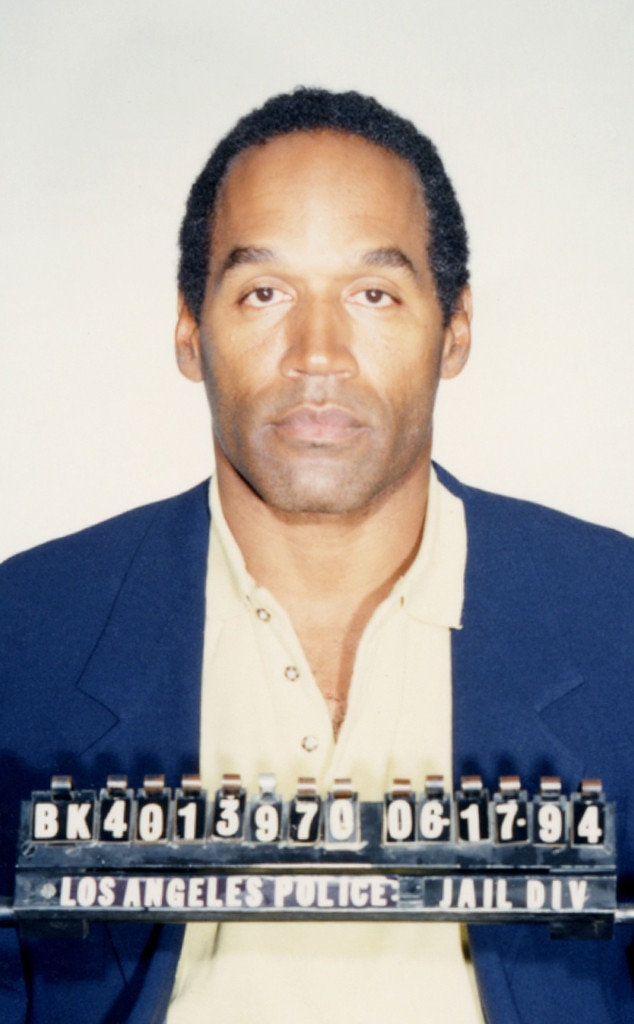 OJ Simpson, O.J. Simpson, Booking Photo, Mug Shot, True Crime Week