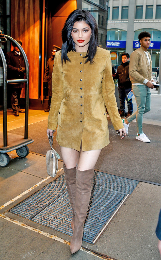 Kylie Jenner, New York Fashion Week Star Sightings
