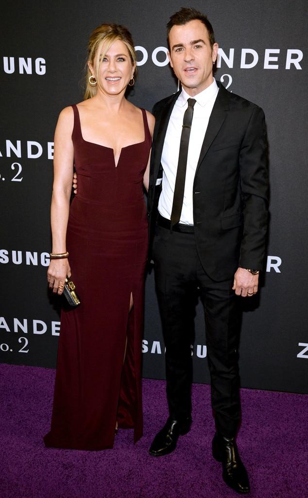Jennifer Aniston, Justin Theroux, Zoolander 2 NY Premiere