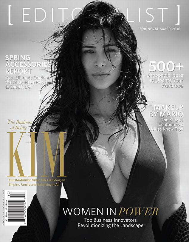 Kim Kardashian, Editorialist