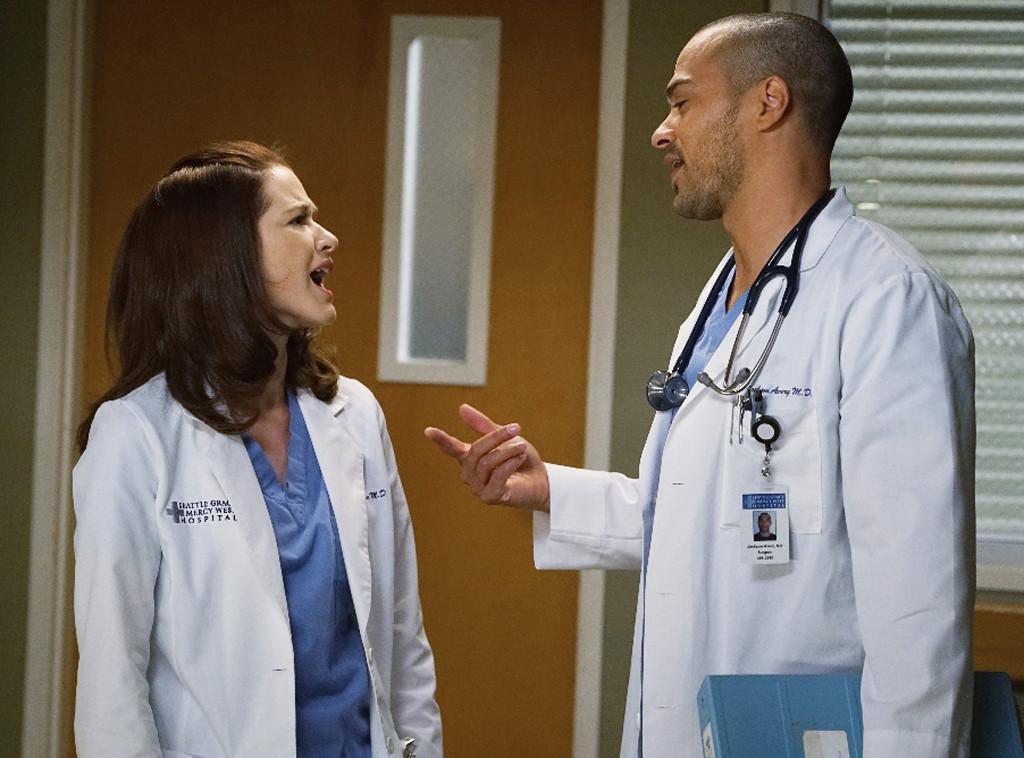 Sarah Drew, Jesse Williams, Grey's Anatomy
