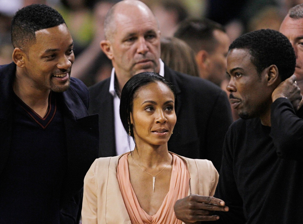 Will Smith, Jada Pinkett Smith, Chris Rock