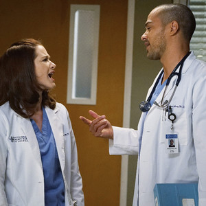 Sarah Drew, Jesse Williams, Grey's Anatomy