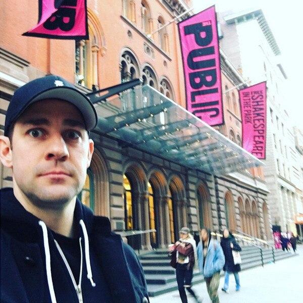 John Krasinski Instagram