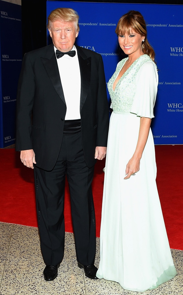 Donald Trump, Melania Trump, 2015