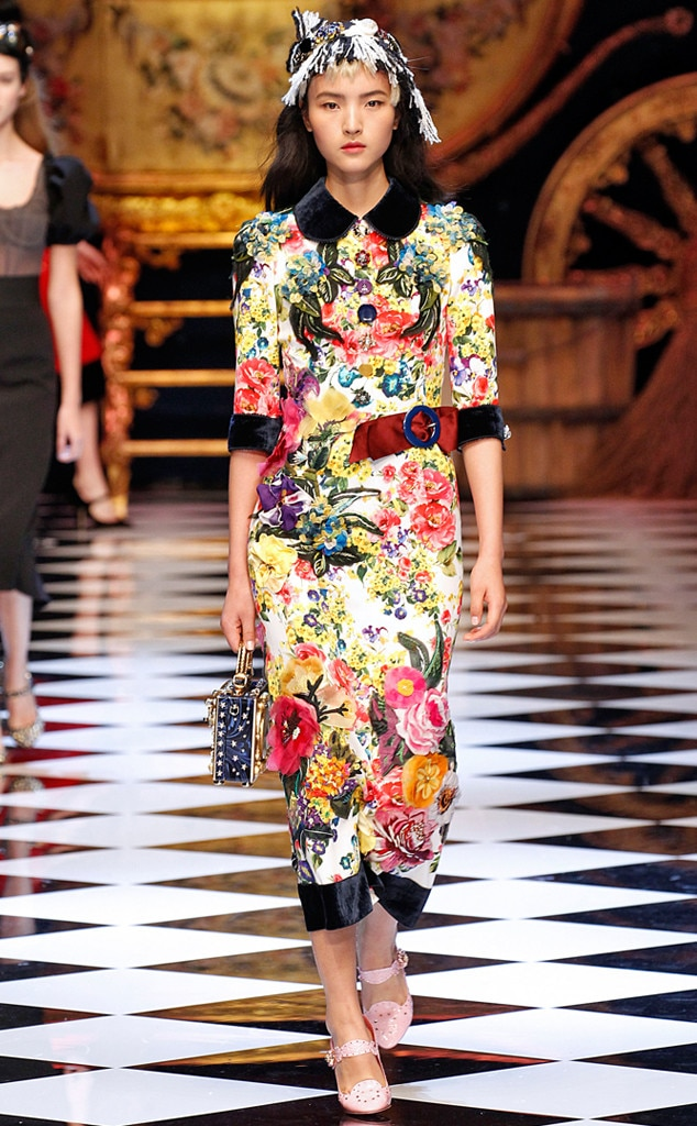 Dolce Gabbana From Milan Fashion Week Fall 2016 Best Looks E News