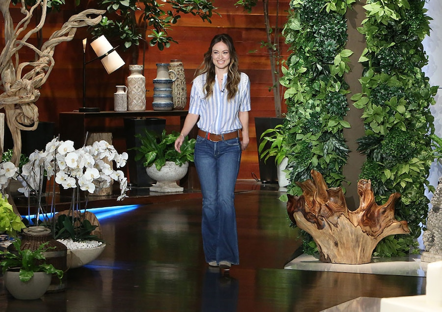 Olivia Wilde, The Ellen DeGeneres Show