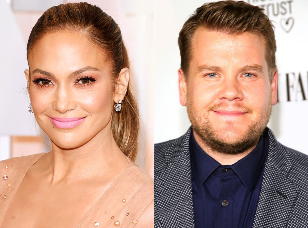 Jennifer Lopez, James Corden