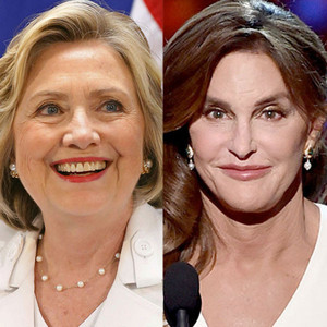 Hillary Clinton, Caitlyn Jenner