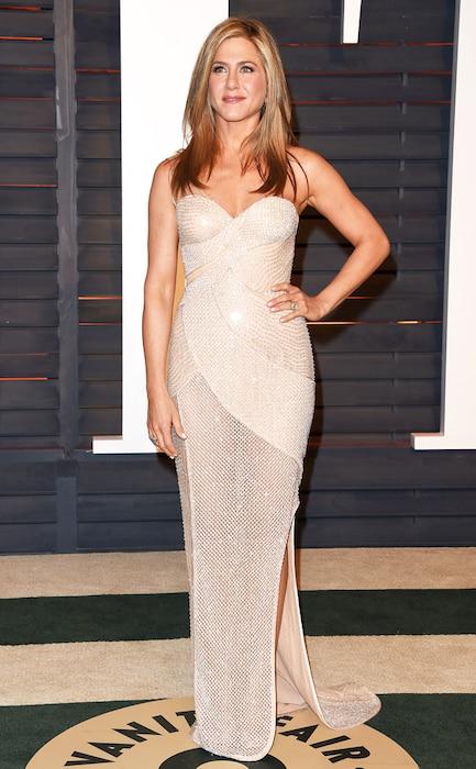 Jennifer Aniston, Vanity Fair Oscar Party
