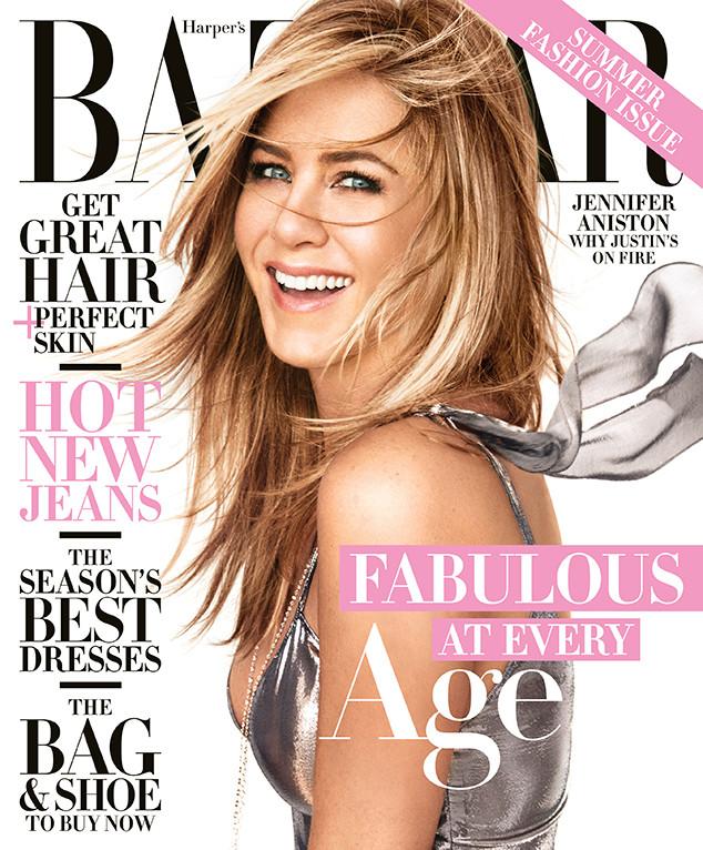 Jennifer Aniston, Harper's Bazaar April 2016