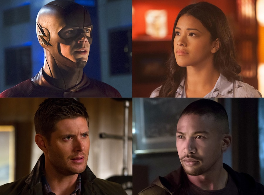 The Flash, Jane the Virgin, Supernatural, The Originals