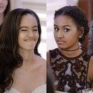 Malia Obama and Sasha Obama Over the Years