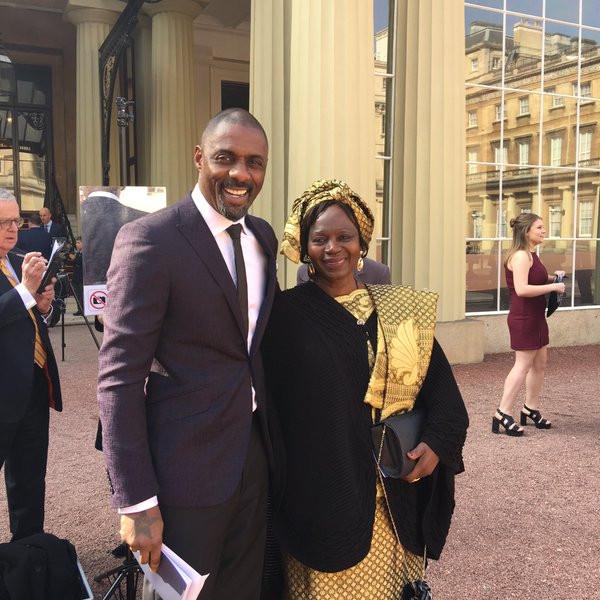 Idris Elba, Mother, Eve Elba