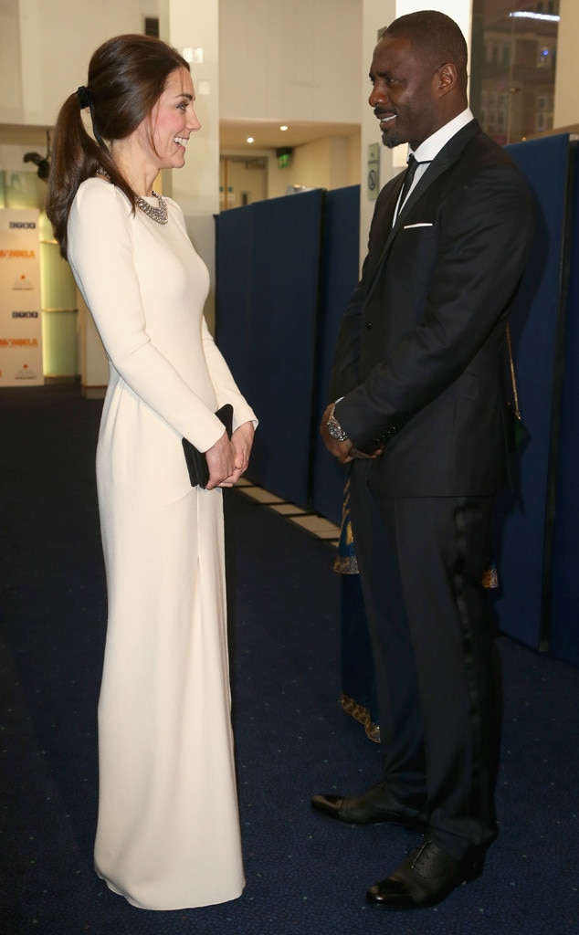 Kate Middleton, Idris Elba