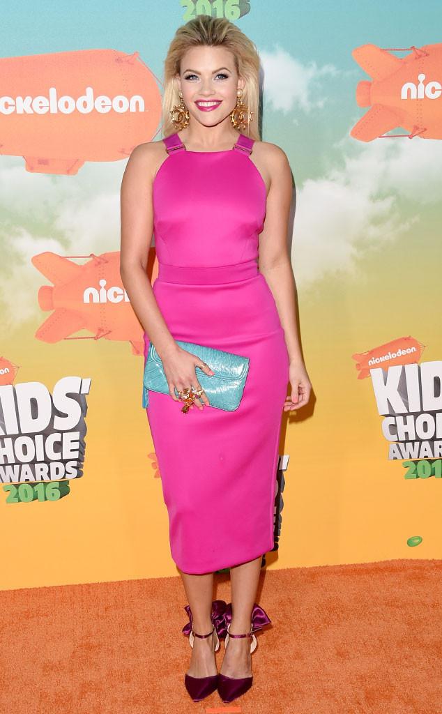 Witney Carson, 2016 Kids' Choice Awards