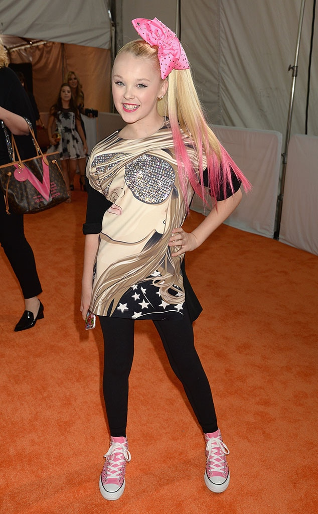 Jojo Siwa From Kids Choice Awards 2016 What The Stars