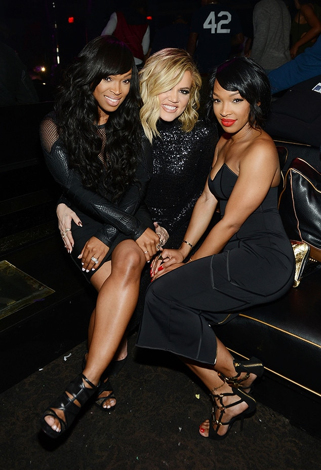 Khloe Kardashian, Malika Haqq, Khadijah Haqq, Birthday Party, 1OAK