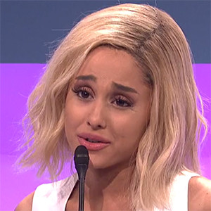 Ariana Grande Hosts SNL, Does Impressions of Jennifer ...