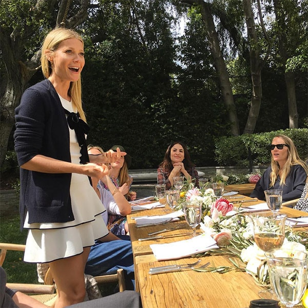 Gwyneth Paltrow Hosts ... Gwyneth Paltrow Instagram