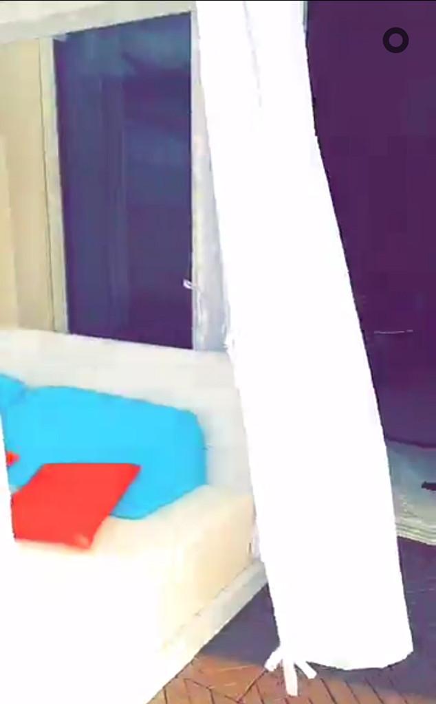 Rob Kardashian, Blac Chyna, Jamaica, Snapchat