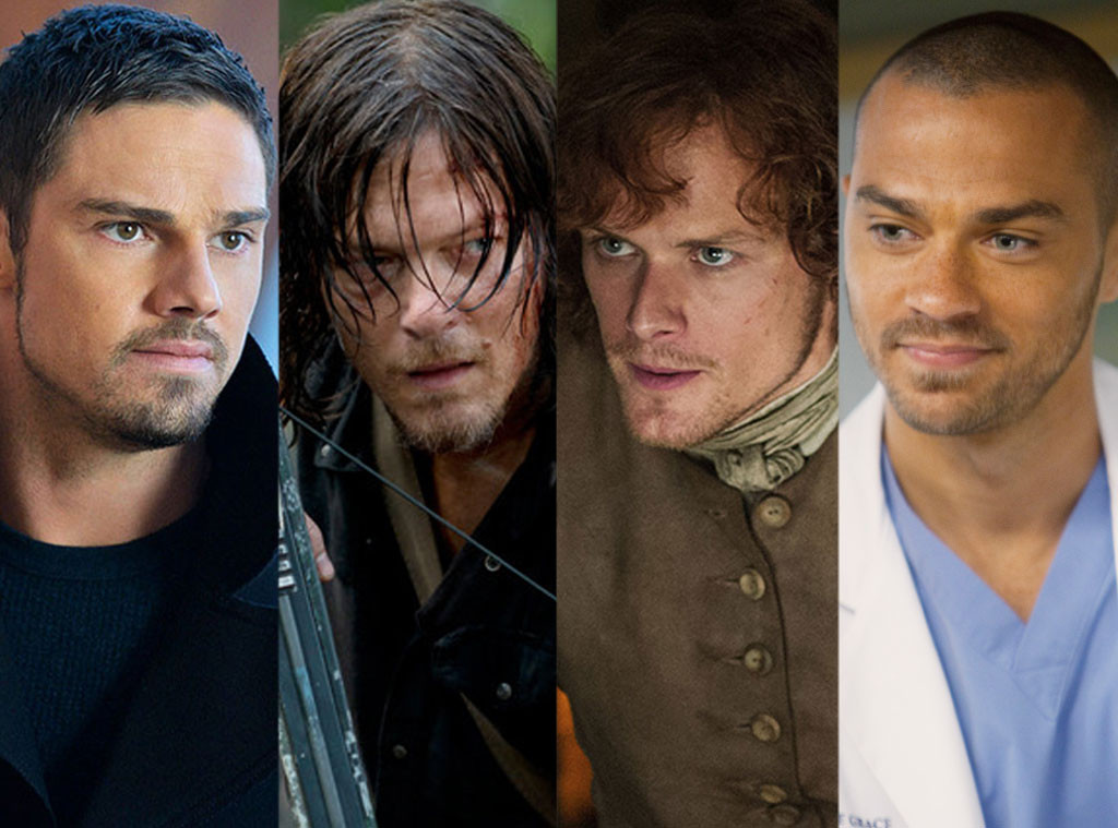 Norman Reedus, Jessie Williams, Jay Ryan, Sam Heughan, Alpha Male Madness