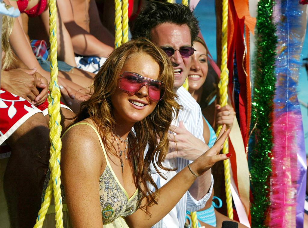 Lindsay Lohan, Matthew Perry, MTV Spring Break