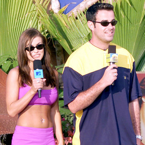 Carmen Electra, Carson Daly, MTV Spring Break