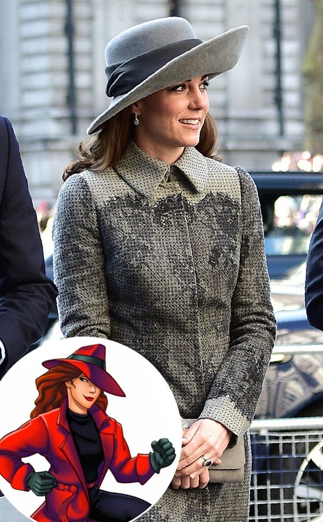 Kate Middleton, Carmen San Diego