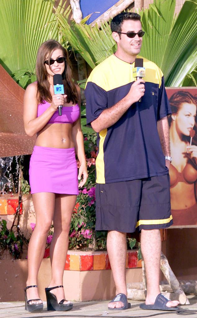 Carmen Electra, Carson Daly, MTV Spring Break